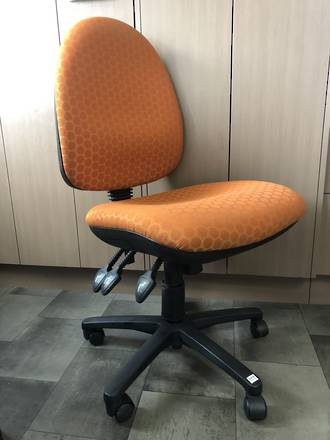 CS Alpha Operator Chair 3 Lever High Back.  Second-hand