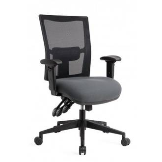 CS Team-Air Task Chair 3 Lever Mesh Back No Arms