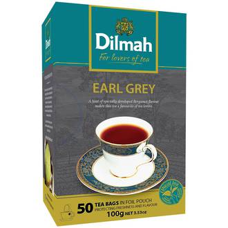 Dilmah Earl Grey Tea Bags 50
