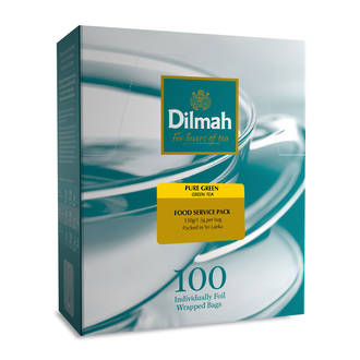 Dilmah Pure Green Tea Env 100