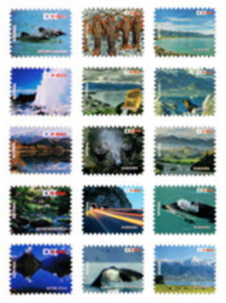 DX Mail National Stamp Roll of 100 Stamps