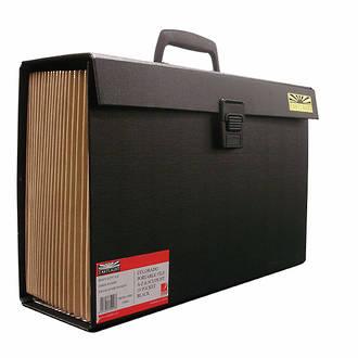 Eastlight Colorado Portable File 19 Pocket Black