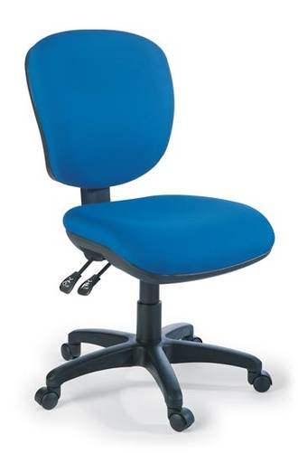 EOS Arena Chair 2 Lever Mid Back Fiesta Fabric
