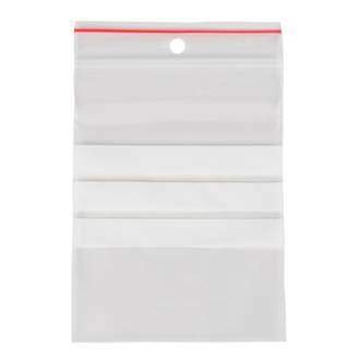 Esselte Resealable Bags 75x100 with Panel * SPECIAL *