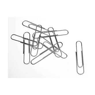 Esselte Paper Clips 50mm Nonslip Pack 100