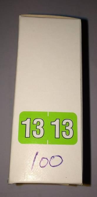 Eureka Label Year 13 Box 100