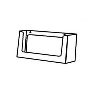 FAB Boxed Landscape Business Card Holder