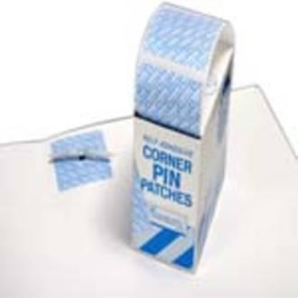 Filecorp Corner pin patches