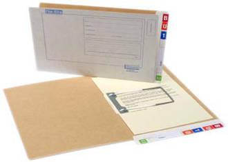 File Rite 2000 Std File Brown Inside - 35mm Cap.