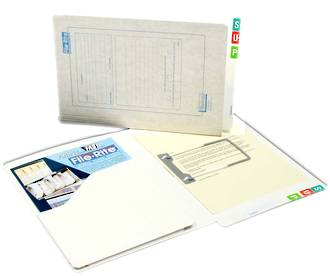 File Rite 2010 Heavy Duty file with Left Hand Pocket - 40mm Cap.