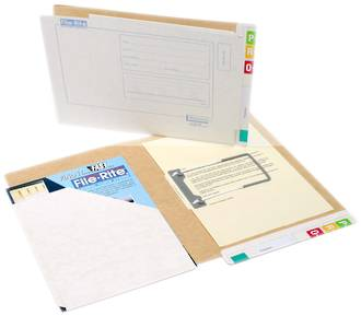File Rite 2022 Standard Pocket File - 35mm Cap.