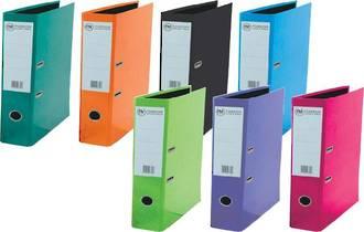 FM Vivid Lever Arch File A4 & Foolscap - 7 Colours