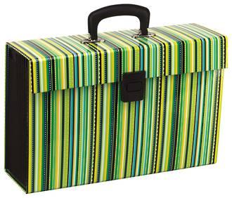 FM Vivid Expanding File Stripe Lime Green