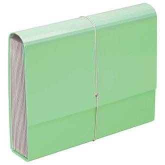 FM A4 File Expanding Pastel Green 13 Pocket