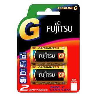 Fujitsu Batteries C Ultra Alkaline 2 Pack