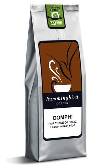 Hummingbird Coffee Plunger 200g Oomph