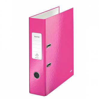 Leitz WOW Lever Arch File 180 Deg A4 82mm - 3 Colours