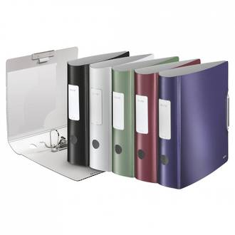 Leitz Style Lever Arch File 180 Deg A4 82mm - 5 Colours