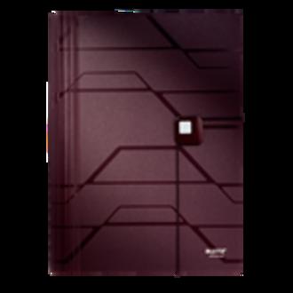 Leitz Prestige Expanding Project File PP A4 Mahogany