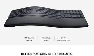 Logitech K860 Ergonomic Keyboard