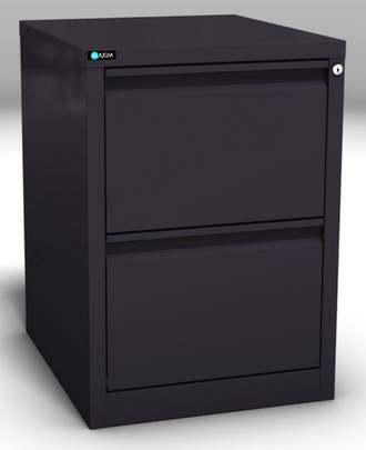 Maxim Easy Glide 2 Drawer Vertical File Cabinet