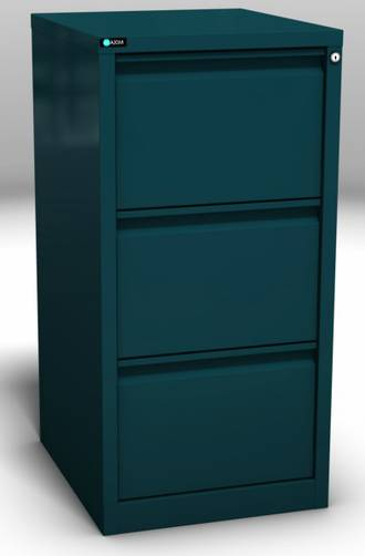 Maxim Easy Glide 3 Drawer Vertical File Cabinet