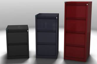 Maxim Easy Glide 4 Drawer Vertical File Cabinet
