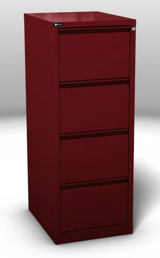 Maxim Ultra Glide 4 Drawer Vertical File Cabinet