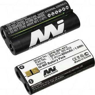 MI DPB-BR-403 Battery Replaces Olympus BR403