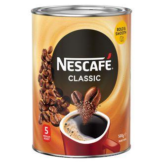 Nescafe Classic Instant Coffee Tin 500g