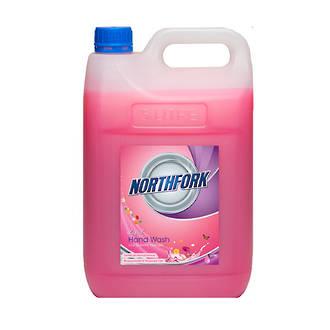 Northfork Liquid Hand Wash, Pink, 5 litres