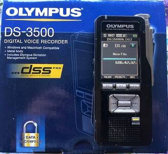 Olympus DS-3500 Digital Voice Recorder Second-hand