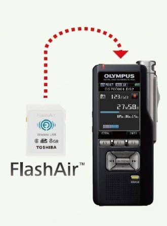 Toshiba FlashAir SDHC Memory Card 8GB