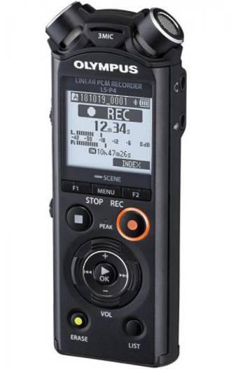 Olympus LS-P4 PCM Recorder