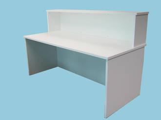 Standard Desk 1800x800 725h 25mm White Pearl