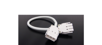 Softwiring 4.0m cable20A White