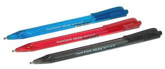 PaperMate InkJoy 100RT Medium Ball Pen - 3 Colours