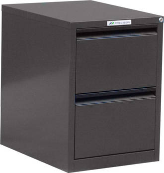 Precision Classic 2 Drawer Vertical File Cabinet Quick Ship Colour