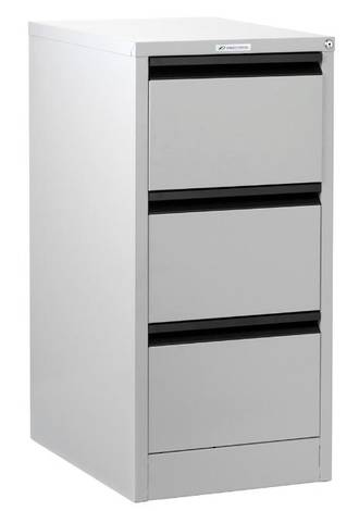 Precision Classic 3 Drawer Vertical File Cabinet Quick Ship Colour