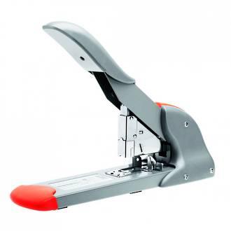 Rapid HD210 Heavy Duty Stapler Silver/Orange