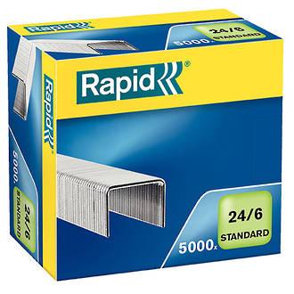 RAPID Staples 24/6 Box 5,000