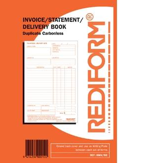 Rediform Book R/INV/D2 Invoice/Stat/Delivery