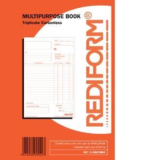 Rediform Book R/MULTIBK3 Multipurpose