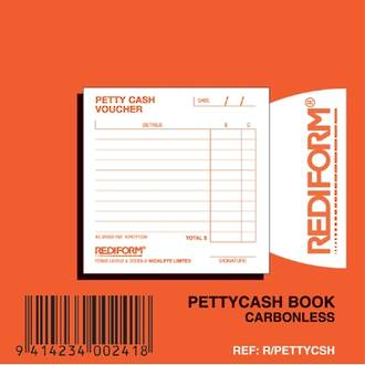 Rediform Book R/PETTYCSH Petty Cash