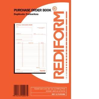 Rediform Book R/PURCHBK Purchase Order