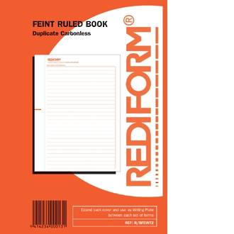 Rediform Book R/SFEINT2 Feint Ruled