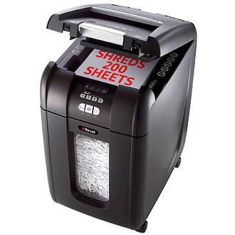 REXEL®Shredder Stack & Shred Auto+200X