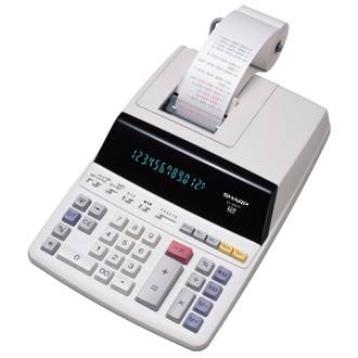 Sharp EL2607P Printing Calculator Heavy Duty * DISCONTINUED *