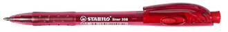 Stabilo Pen 308M Retractable Red