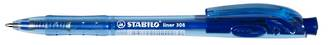 Stabilo Pen 308M Retractable Blue